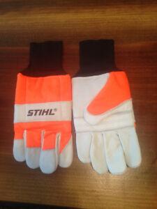 Brand new Stihl chainsaw gloves