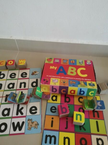 My ABC - 24 mini block books