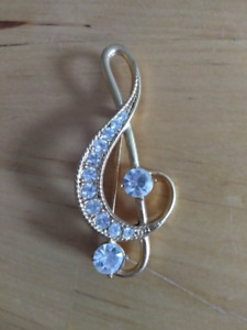 Treble Clef Pin