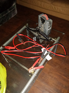 Electric tire pump, Jump cables, and Hand Jack for sale