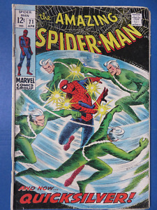 Amazing Spider-Man - Lot of 5 - 71, 72, 73, 74, 75