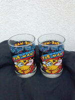 PAC MAN GLASSES 1980`S