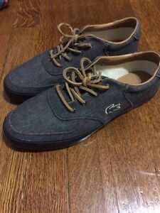 NEW Lacoste All Black And Grey Shoes size 9