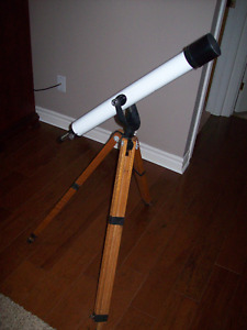 Telescope for long weekend star gazing REDUCED to $60