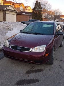 2007 Ford Focus SE Manual Transmission