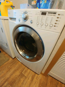 LG high efficiency front load washer