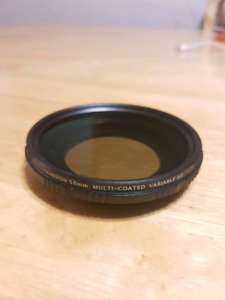 Cameron 58mm multi coated variable ND filter
