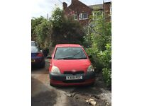 Toyota Yaris 1.0 breaking for parts