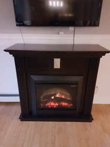 Electric fireplace for immediate sale