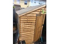 8ft x 8ft shed