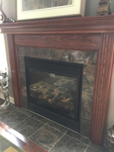 Solid Wood Mantel Surround - New Price