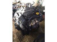 Vauxhall corsa c sxi 1.2 engine