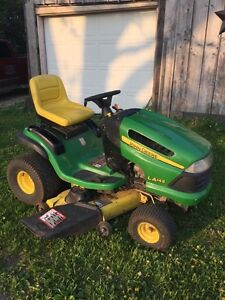 """John deer riding mover 22HP with a 48"""" deck $1,400"""