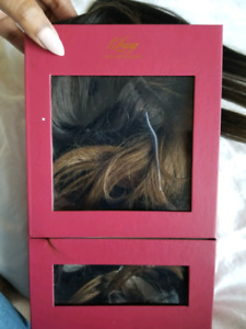 Luxy Hair Extensions Ombre Chestnut