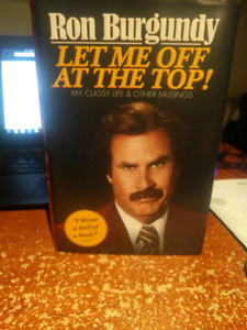 Ron burgundy biography