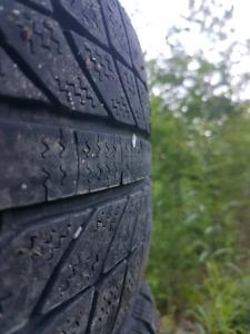Set of 4 185/55/15 winter tires