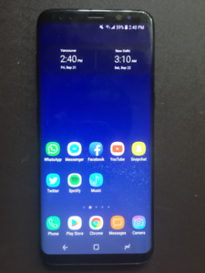 Samsung Galaxy S8 64GB UNLOCKED WITH FREE COVER & SCREEN PROTECT