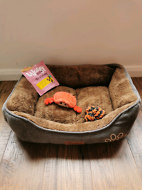 CRUFTS basket used twice only for guest dog