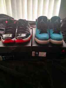 Air Jordan Retros Size 11 & 11.5