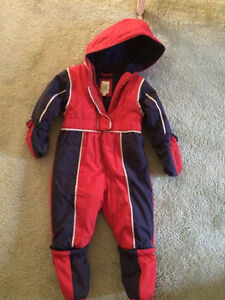Kid snow suit