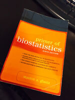 Primer of Biostatistics (6th edition)  by Stanton a. glantz