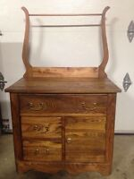Old washstand