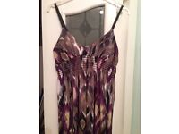 Lovely stretchy Maxi dress size 14/16. £5.00