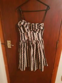 Print Dress Atmosphere Size 10 - New