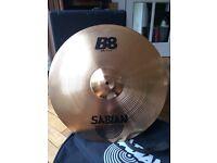 "Unused Sabian B8 20"" Ride Cymbal"