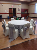 138 Ivory Spandex (Stretch) Banquet Chair Covers
