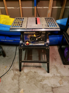 Mastercraft 10 inch, 13 amp table saw