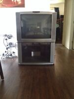 """32"""" RCA TV with stand"""