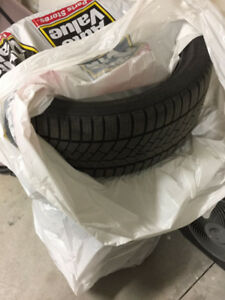 4 winter tires Continen 225-40 R 18 excellent $ 500 (run flat)