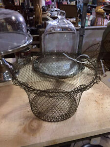 Vintage wire baskets
