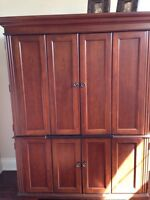 Hooker furniture armoire