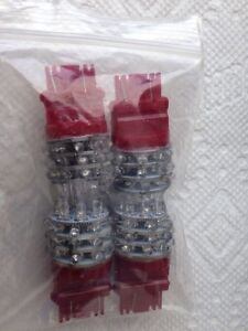 4 - *BRAND NEW* Red LED 3156 Light Bulbs