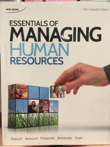 Essentials of Managing Human Resources, 5th Canadian Edition