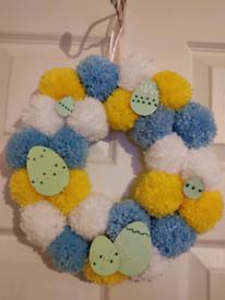 Handmade Easter Wreath 🐰