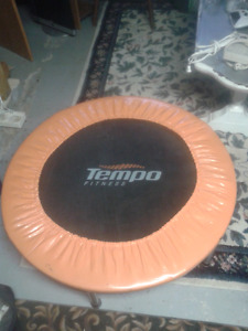 Small TEMPO FITNESS Exercise Trampoline