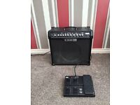 Line 6 Spider IV 75 with FBV MKII footswtich