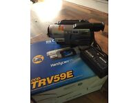 BOXED MINT CONDITION SONY HI 8 HANDY CAM VIDEO CAMERA WITH NIGHT MODE MODEL CCD TRV59E