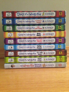"""Diary of a Wimpy Kid"" Jeff Kinney (complete 9-book collection)"