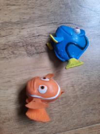Nemo and Dori small squishes