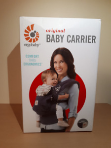 ErgoBaby Original Baby Carrier: Gray Sailor Pattern - Authentic