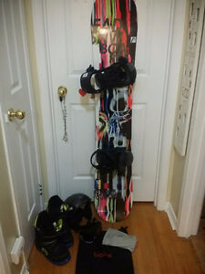 Snow Board and complete gear