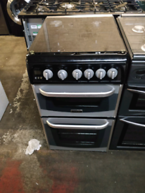 SILVER CANNON 50CM WIDE FULL GAS COOKER