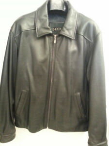 Danier Man's Leather jacket.  Never worn size Medium