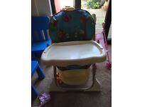 High chair fisher price rain Forrest