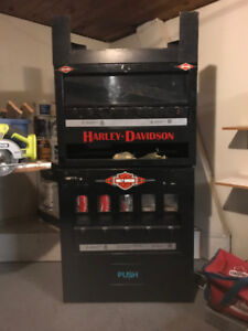 HARLEY DAVIDSON VENDING MACHINE