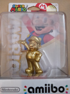 Sealed Gold Mario Amiibo